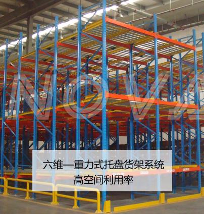 六维重力式托盘货架系统
