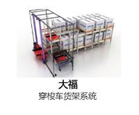 大福 Daifuku穿梭车货架系统