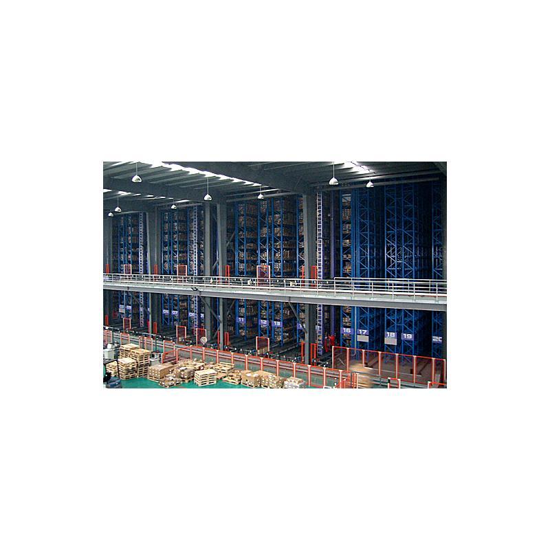 精星 自动立体仓库货架 效果图