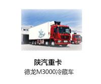 陕汽重卡德龙M3000冷藏车