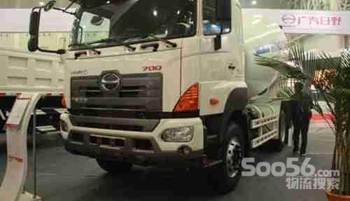 广汽日野700系列搅拌车